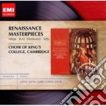 King's College Choir - Masters: Renaissance Masterpieces cd musicale di King's college choir