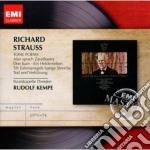Emi masters: richard strauss poemi sinfo cd musicale di Rudolf Kempe