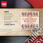 Orff Carl - Previn - Masters: Orff Carmina Burana cd musicale di Andr� Previn