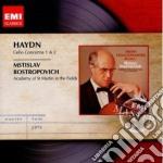 Haydn Franz Joseph - Rostropovich Mstislav - Masters: Haydn Concerti Per Violoncello cd musicale di Mstisla Rostropovich