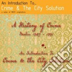 Crime And The City Solution - An Introduction To cd musicale di Crime & the city sol