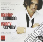 Gautier Capucon and Mariinsky Theatre Orchestra - Tchaikovsky Rococo Variations cd musicale di Gautier Capucon