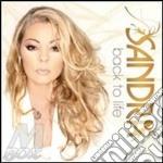 BACK TO LIFE                              cd musicale di SANDRA