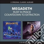 Countdown to extinction / rust in peace cd musicale di Megadeth
