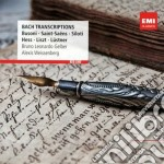 Bach - Gelber Bruno-leonardo - Red Line: Bach Piano Transcriptions cd musicale di Bruno-leonard Gelber