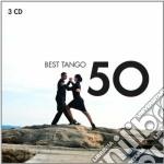 50 best tango cd musicale di Artisti Vari