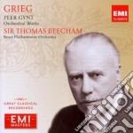 Grieg - Beecham Thomas - Masters: Grieg Peer Gynt cd musicale di Thomas Beecham