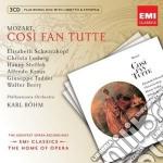 NEW OPERA SERIES: MOZART COSI'FAN TUTTE   cd musicale di Karl Bohm