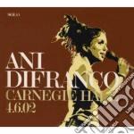 Ani Difranco - Carnegie Hall 4.6.02 cd musicale di Ani Difranco