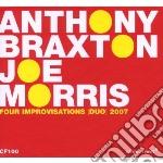 Four improvisations (duo) 2007 cd musicale di A./morris Braxton