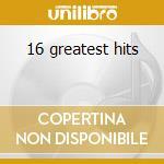 16 greatest hits cd musicale di Paul Anka