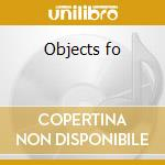 Objects fo cd musicale