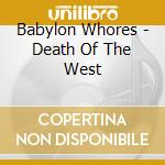 Death of t cd musicale