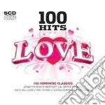 100 HITS LOVE - BOX 5 CD cd musicale di ARTISTI VARI