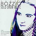SOLO DRUM MUSIC 1 cd musicale di BOZZIO TERRY