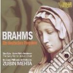 Brahms Johannes - Requiem Tedesco Op.45 cd musicale di Johannes Brahms