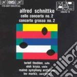 Alfred Schnittke - Cello Concerto cd musicale