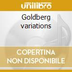 Goldberg variations cd musicale