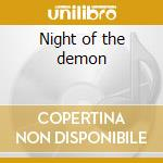 Night of the demon cd musicale