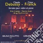 Debussy / Cesar - Sonata Per Violino E Pianoforte - Gerard Poulet cd musicale di Claude Debussy