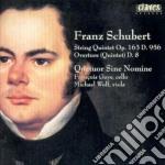 Schubert Franz - Quintetto X Archi Op.163, Ouverture D 8 cd musicale di Franz Schubert