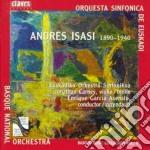 Andres Isasi - Berceuse Tragica X Vl E Orchestra Op.22, Erotische Dichtung Op.14, Zharufa Op.12 cd musicale di Andres Isasi