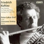 Kuhlau Friedrich - Sonata X Fl Op.85, Op.64, Fantasia X Flsolo cd musicale di Friedrich Kuhlau