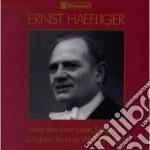 HAEFLIGER ERNST INTERPRETA cd musicale
