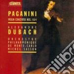 Paganini Niccolo' - Concerti X Vl Op.6, N.4 cd musicale di Niccolo' Paganini