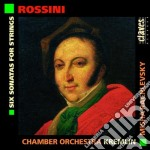 SONATE X ARCHI (N.1 > N.6) cd musicale di Gioachino Rossini