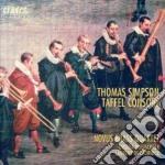 Composizioni Di Simpson, Dowland, Webster, Topffer, Farnaby, Grabbe, Johnson, Bl cd musicale