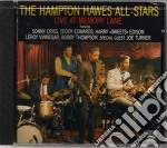 Hampton All Star (The) - Live At The Memory Lane cd musicale di THE HAMPTON HALL ALL