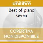 Best of piano seven cd musicale
