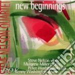 NEW BEGINNINGS cd musicale di STEVE NELSON QUARTET