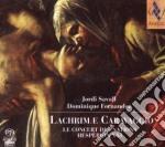 Savall - Lachrime Caravaggio cd musicale di Jordi Savall