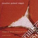 Luciano Biondini / Michel Godard / Lucas Niggli - What Is There What Is Not cd musicale di Biondini/godard/nigg