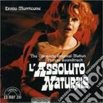 Ennio Morricone - L'assoluto Naturale cd musicale di Ennio Morricone