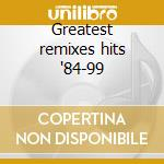 Greatest remixes hits '84-99 cd musicale di Miko mission - remix