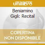 Beniamino Gigli - Recital cd musicale