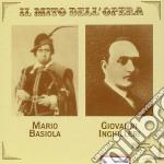 Mario Basiola - Il Mito Dell'opera cd musicale di Basiola/inghilleri