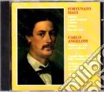 Magi, Fortunato, Angeloni, Carlo - Sinfonia A Piena Orchestra E Banda, Miserere Per Soli, Coro E Orchestra cd musicale di Magi/angeloni