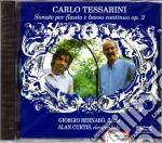 Carlo Tessarini - Sei Sonate Per Flauto E Clavicembalo cd musicale di Carlo Tessarini