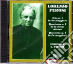 Perosi Quartetto N.4 # Trio N.1 # Quintett #  # cd musicale di L. Perosi