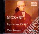 Mozart Sonate A Tre K.10-15 cd musicale di Wolfgang Amadeus Mozart