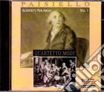 Giovanni Paisiello - Quartetti Per Archi N. 8 In Sol Maggiore, 6 In Do Maggiore, 5 In Si Bemolle Maggiore, 2 In La Maggiore cd musicale di Paisiello