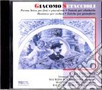 Giacomo Setaccioli - Musica Da Camera cd musicale di G. Setaccioli