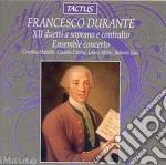 Ensemble Concerto - Xii Duetti cd musicale di Durante