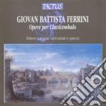 Loreggian Roberto - Opere Per Clavicembalo cd musicale di Ferrini giovan batti