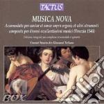 Consort Veneto - Consort Veneto-musica Nova Per Strumenti cd musicale di Artisti Vari