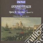 I Filarmonici - Opera Ix cd musicale di Antonio Vivaldi